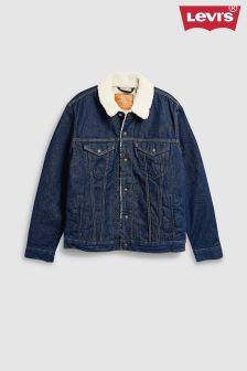 Levi's® Rinse Wash Sherpa Trucker Jacket