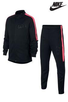 Nike Black/Pink Tracksuit