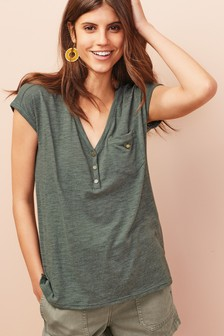 5968668b78716 Ladies Green Tops | Womens Green Blouses | Next Official Site