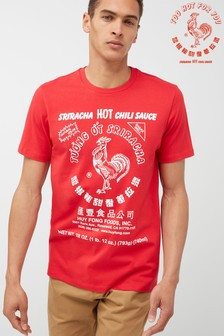 Sriracha Chilli Graphic T-Shirt