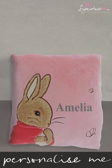 Personalised Flopsy Rabbit Cushion by Signature PG