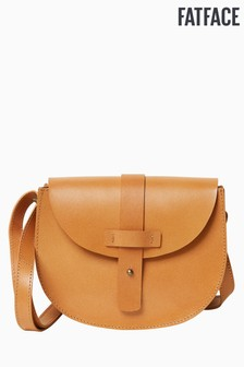 FatFace Brown Summer Saddle Cross Body Bag