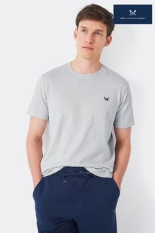 Crew Clothing Company Grey Crew Classic T-Shirt