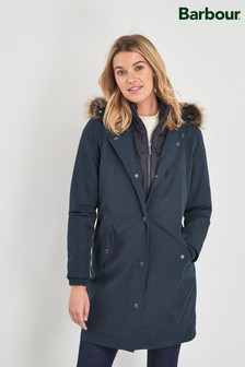 Barbour® Coastal Navy Waterproof Mast Coat