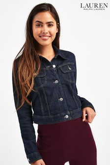 Lauren Ralph Lauren Rinse Wash Denim Jacket