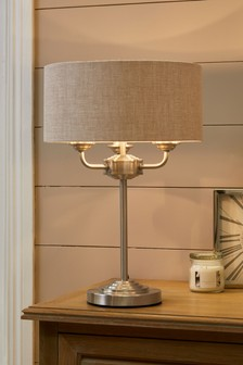 Burford 3 Light Table Lamp