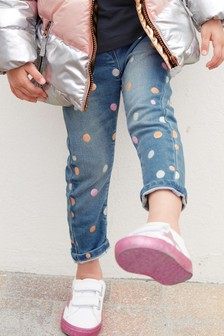 Metallic Spot Jeans (3mths-6yrs)