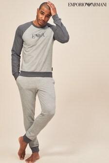 Emporio Armani Grey Contrast Jogger