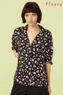חולצה מודפסת של Finery London דגם Darcie בשחור