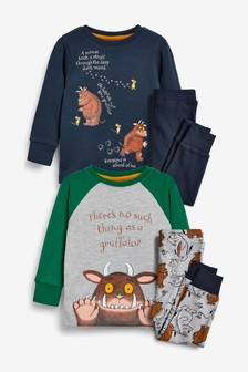 2 Pack Gruffalo Snuggle Pyjamas (9mths-8yrs)