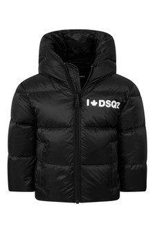 Baby Black Padded Jacket
