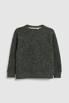Embossed Sweat Top (3-16yrs)