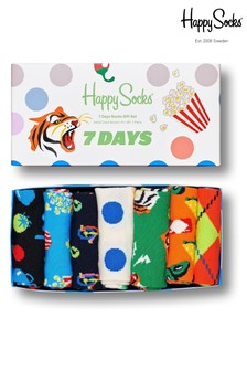 Happy Socks 7 Day 7 Pack Gift Box