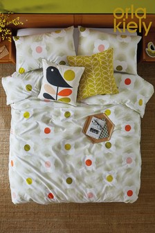 Orla Kiely Striped Petal Cotton Duvet Cover