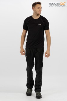 Regatta Black Pack It Waterproof Overtrouser