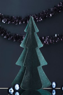 glittery large tree - Christmas Decorations Online