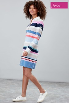 Joules Winona Rugby Shirt Dress