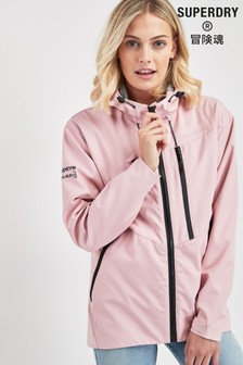 Superdry Pink Windcheater Coat