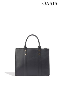 Oasis Black Fern Triple Tote