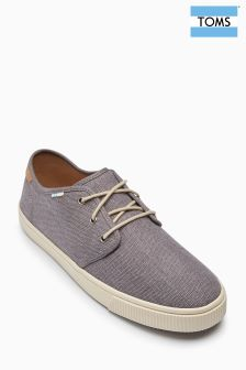 Toms Grey Carlo Pump