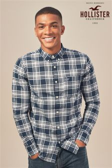 Hollister Check Long Sleeve Shirt