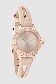 Shimmer Split Strap Watch