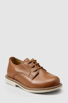Italian Leather Derby Shoes (Younger)