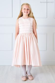 Angel & Rocket Baby Pink Layered Top Dress