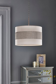Buy homeware lighting lamp shades lampshades from the next uk online diamant easy fit shade aloadofball Image collections