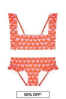 Girls Red Bikini