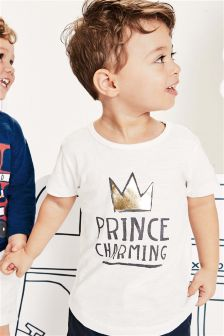 Prince Charming T-Shirt (3mths-6yrs)