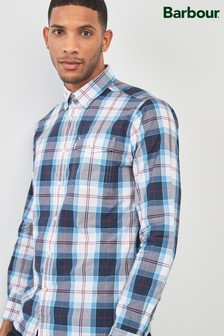 Barbour® Blue Cabin Check Shirt