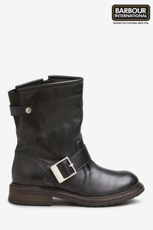 Barbour® International Avalon Black Boot