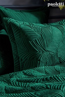 Palmeria Quilted Pillowcase by Riva Paoletti
