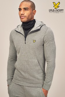 Lyle & Scott Sport Grey Longridge Kangaroo Hoody
