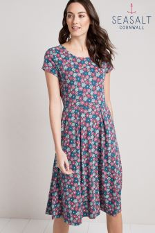 Seasalt Riviera Dress II Cornflower Night