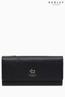 Radley Black Pockets Large Flapover Matinee Purse