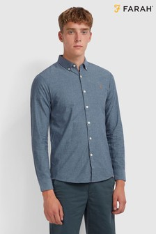 Farah Steen Slim Fit Long Sleeve Shirt