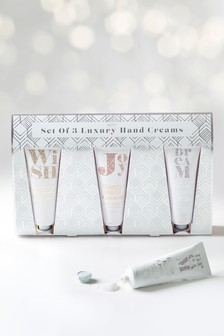 Set of 3 Fizz Hand Creams