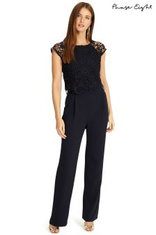 Phase Eight Navy Cortine Jumpsuit