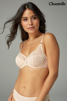 Chantelle Golden Beige Pyramide Underwired Bra