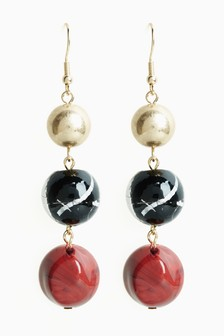 Bead Drop Earrings