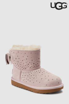 UGG® Kids Star Girl Bow Mini Boot
