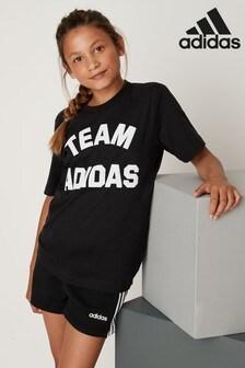 adidas Black VCity T-Shirt