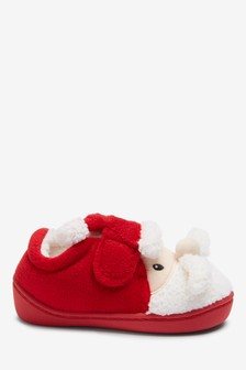 Santa Slippers (Younger)