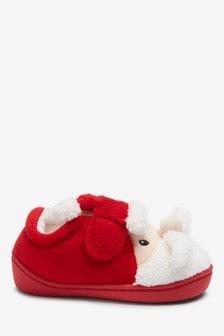 Тапочки с дизайном Санта‑Клауса (Младшего возраста)