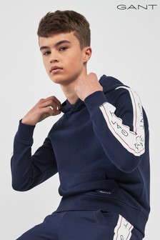GANT Teen Kapuzensweatshirt mit Logo, marineblau