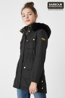 Barbour® International Black Horsepower Jacket
