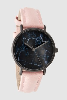Marble Dial Watch