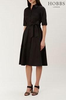 Hobbs Black Tyra Dress